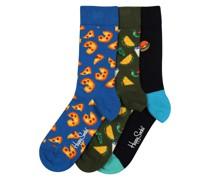 Socken 'Junk Food' mischfarben