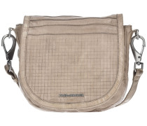 Cut it Vintage Dimension Handtasche Leder 35 cm beige