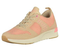 Sneaker beige / pink