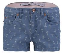 Shorts 'island' blau