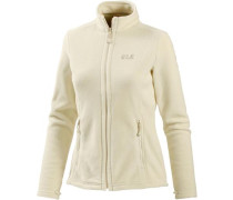 Fleecejacke 'Moonrise' creme