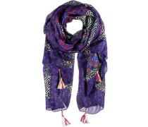 Seiden Schal lila