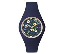 Armbanduhr 'ice-Flower Ice.fl.dai.u.s.15' blau