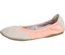 Amalie Ballerinas grau / orange