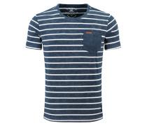 T-Shirt 'MT Defence' blau