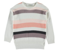 Pullover nitliject Strick- weiß