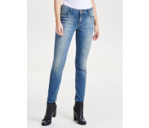 Skinny Fit Jeans Carmen Reg blue denim