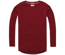 Pullover 'thdw Basic CN Sweater L/S 1' rot