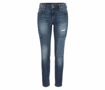Relax-fit-Jeans blau