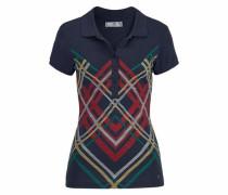 Poloshirt marine / mischfarben