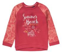 Sweatshirt für Mädchen orange / rot / hellrot / weiß