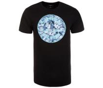 T-Shirt 'Neon Chuck Patch Camo Fill' mischfarben / schwarz