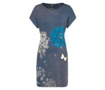 Shirtkleid 'ginger' blau / mischfarben