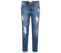 'Liv' Boyfriend Jeans Damen blue denim