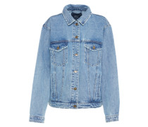 Jeans Jacke 'caroline Ethnic' blue denim
