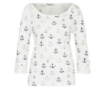 Shirt 'onlJESS' navy / grau / offwhite