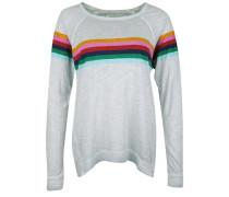 Longsleeve 'rainbow Relaxed' grau
