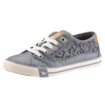 Sneaker mit Spitze grau