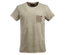 Shirt 'tazy' dunkelbeige