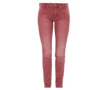 Shape Superskinny: Garment Dye-Jeans rot