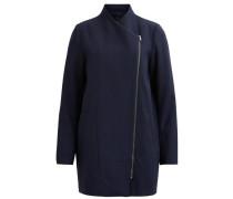 Wollmantel 'objnora Coat' dunkelblau