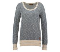 Pullover 'Biquet' beige / navy