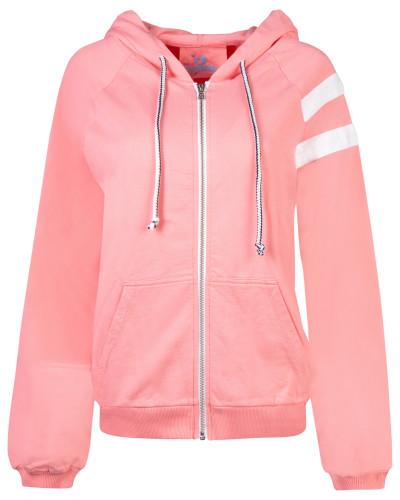 Sweatshirt 'Gilly the Sweat' pink / weiß