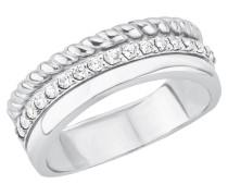 Ring mit Zirkonia »So1392/1-4« silber