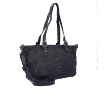 'Tarassaco Shopper' Tasche 23 cm schwarz