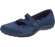 Breathe-Easy Lucky Lady Ballerinas blau