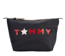 Kulturtasche 'Poppy Tommy Star' navy / rot / weiß