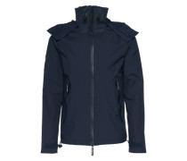 Übergangsjacke 'new Hooded Cliff Hiker' dunkelblau