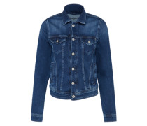 Jeansjacke aus Baumwollmix 'Core' blue denim