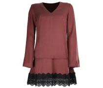 Kleid 'rina' braun / schwarz