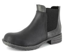 Mädchen Stiefel Leder schwarz