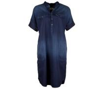 Jeanskleid im Tunika-Style blau
