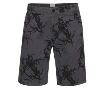 Bedruckte Shorts grau / anthrazit