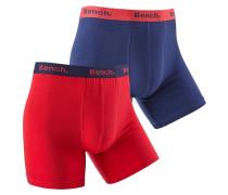 Boxer (2 Stück) blau / rot