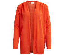 Einfache Strickjacke 'visumi Cardigan' orange