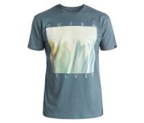 T-Shirt »Classic Mug Shot« blau