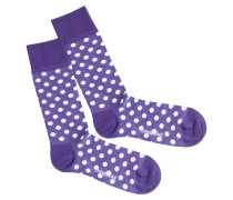 Socken 'Purple Dots'
