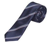 Krawatte Gemusterte - blau