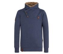 Sweatshirt 'Schmierigen II' blau
