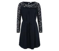 Kleid mit Spitze 'OBJEngel' blau
