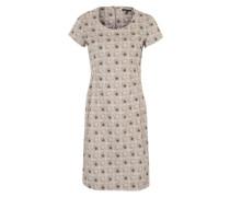 Sommerkleid mit Allover-Print mischfarben