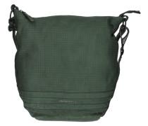 Cut it Vintage Mixpixel Handtasche Leder 37 cm grün