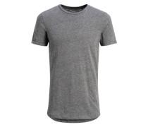 Extra Langes T-Shirt grau