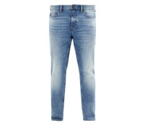 Scube Relaxed: Stretch-Jeans blue denim