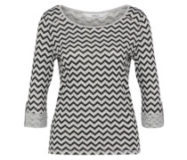 Shirt 'jess' hellgrau / graumeliert