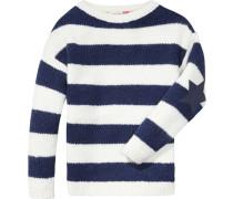 Pullover »Violet BN Sweater L/s« navy / weiß